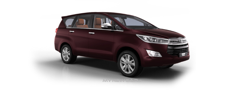 Toyota Innova Crysta 2.8 ZX AT 7 Seater